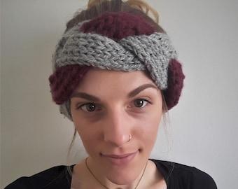 Headband - Two-tone braided headband