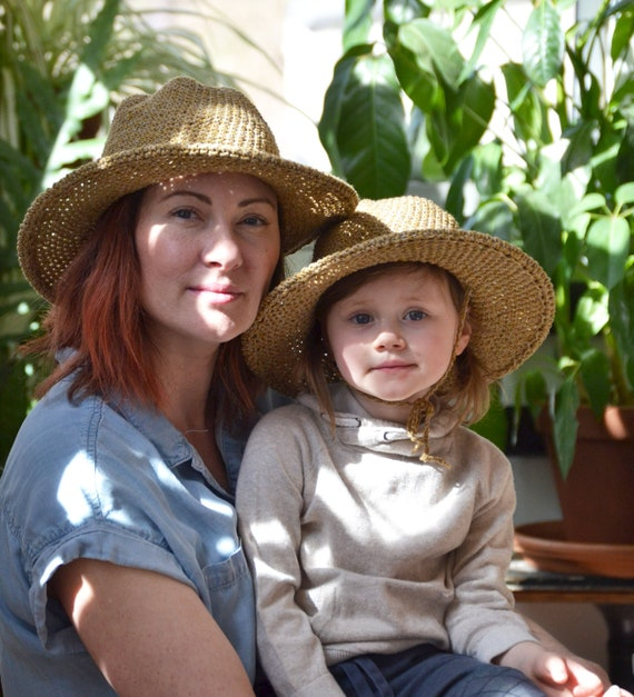 1094f5ce026 Matching Hat Sets for Moms and Kids Mothers Day Package Sun