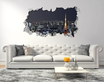 Japanese wall murals Etsy