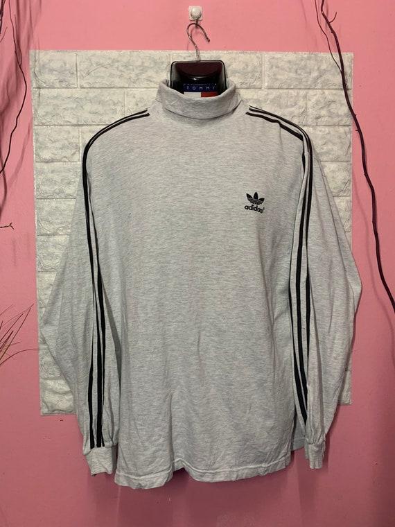 Vintage Sweatshirt Adidas TurtleNeck