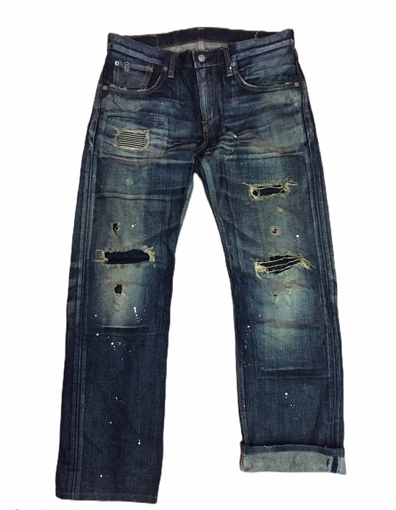Rare Jeans Selvedge Edwin Ripped Design