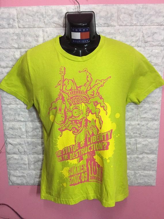 Rare Shirt Band Summer Sonic