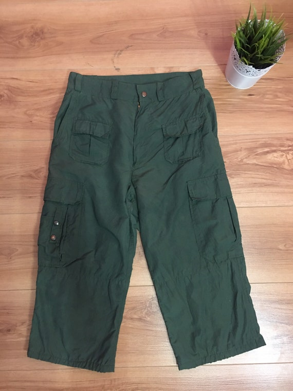 Rare short Cargo Pants Final Home Issey Miyaki