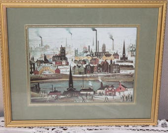 The Canal/L.S.Lowry/ Art & Collectables/ Prints/Home and Living/Home Decor/Wall Decor (0027X)