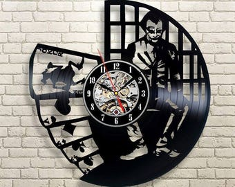 Joker Birthday Gift For Husband Turning 70 60 30 35 50 Runners To Be Men August Woman Wall Clock Over All Rich People