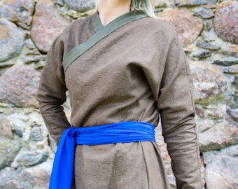 Mongolian Deel / Asian Historical Cotton Coat