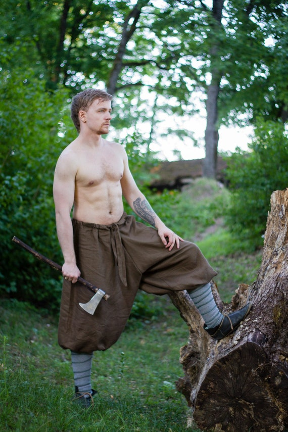 Medieval Celtic Viking Pants
