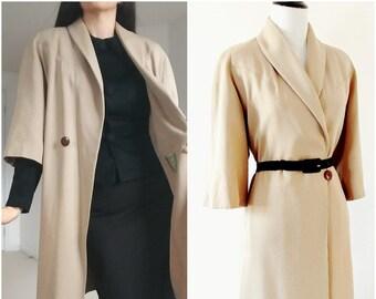 Vintage 1940's Coat | 1940's Overcoat | 1940's Swing Coat | 1940's Jacket |