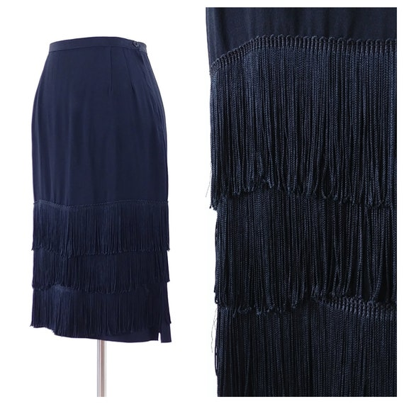 Vintage 1940's Fringe Skirt | 1940's Fringe Skirt