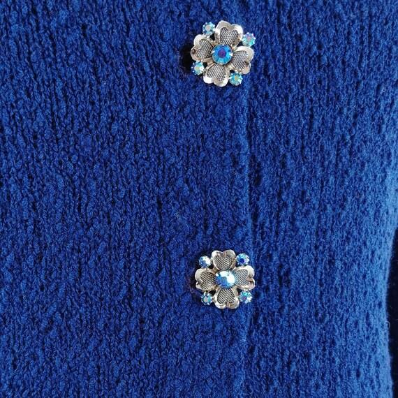 Vintage 1950s Dress Set   50s Sweater Set   60s S… - image 5