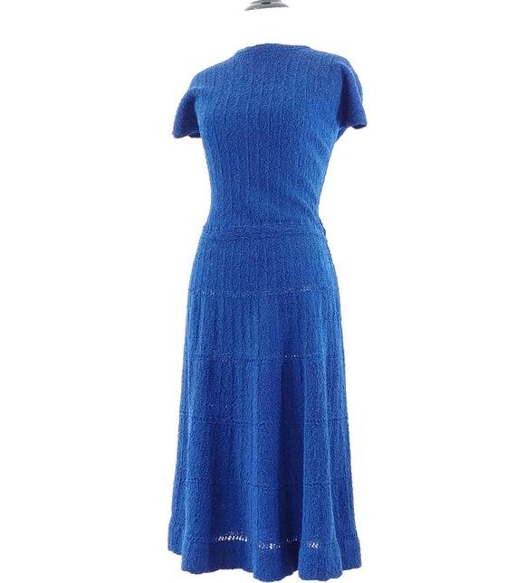 Vintage 1950s Dress Set   50s Sweater Set   60s S… - image 9