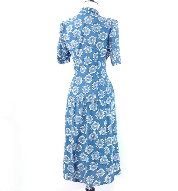 Vintage 1940s Blouse and Skirt Set | 40s Summer S… - image 9