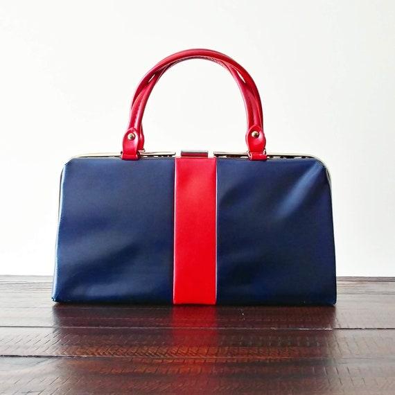 Vintage 1960s Mod Purse | 60s Purse | Mod Handbag