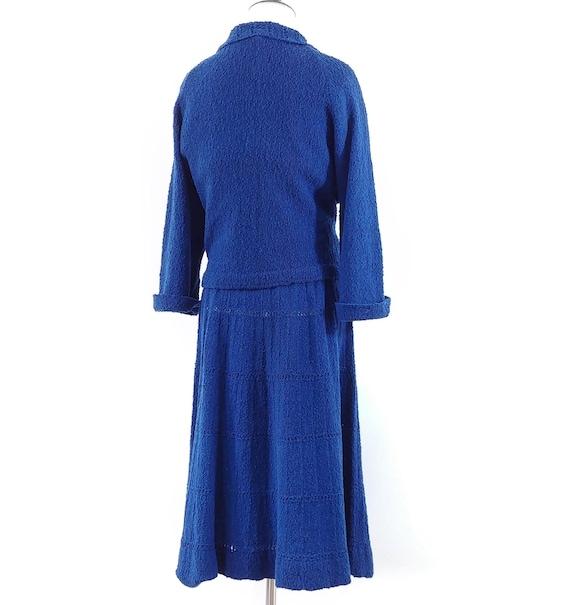 Vintage 1950s Dress Set   50s Sweater Set   60s S… - image 10