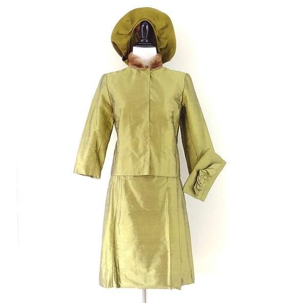 Vintage 1960's Four Piece Dress Set | 60s Dress S… - image 2