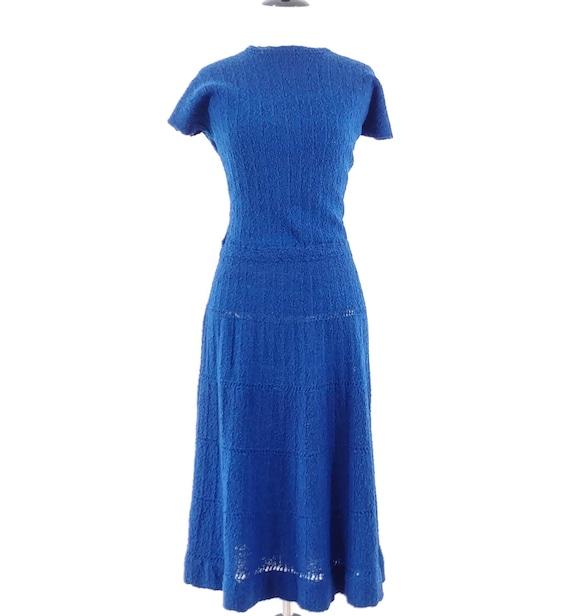 Vintage 1950s Dress Set   50s Sweater Set   60s S… - image 3
