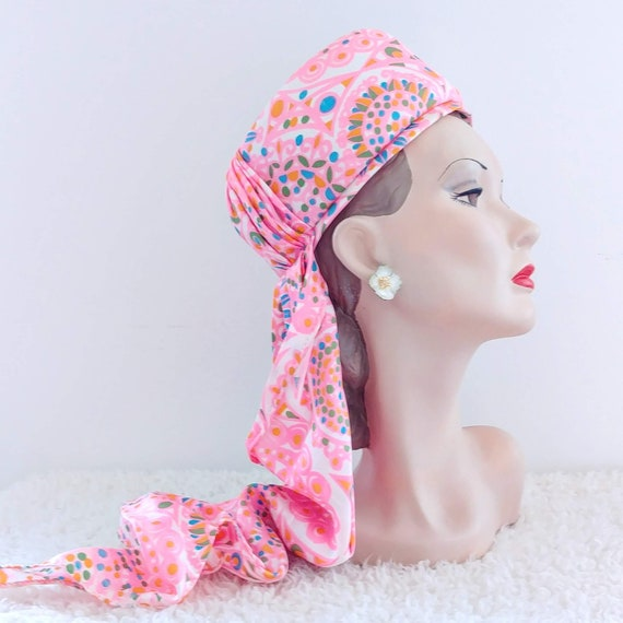 Vintage 1960's Sally Victor Hat | 60's Wimple Hat… - image 5