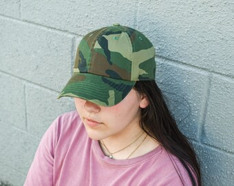 Chad Hope Army Green Embroidered Baseball Caps USA for Men Female American Flag Caps Black Hat