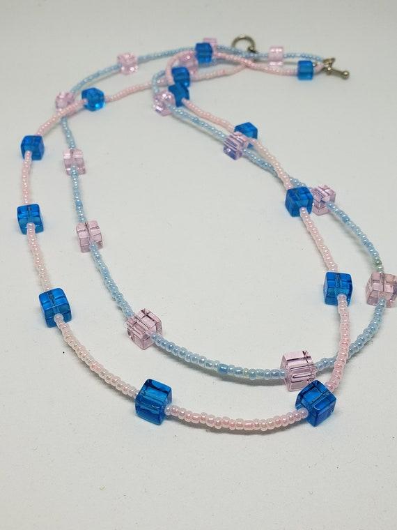 classic jewelry Turquoise and white bracelet handmade jewelry winter jewelry beaded bracelet inexpensive bracelet everyday bracelet
