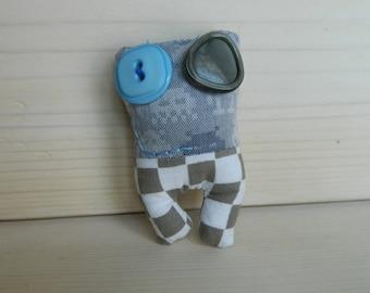 Lavandillo Pin Nerd Space Invader