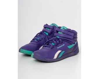 f4b3154a0 Vintage Purple REEBOK Trainers/ Size 39