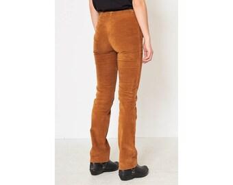 059fc99ea29 Vintage Brown DOLCE GABBANA Corduroy Trousers  Size XS