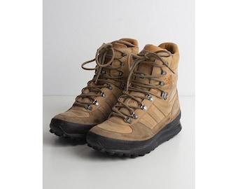 032e5c649 Vintage Beige ADIDAS Boots  Size UK 7