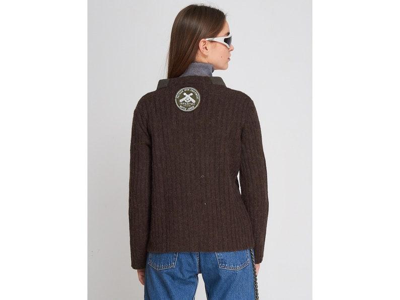 Vintage Brown D/&G Knit Pullover Jumper Size L