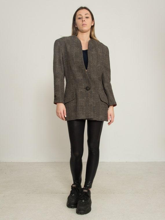 Vintage Grey KRIZIA Jacket Blazer/ Size IT 44