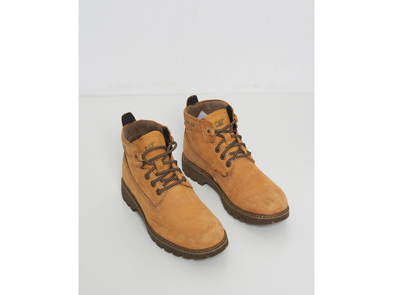 Chaussures 9Uk740 Cuir Caterpillar Clair Us Cat Taille Marron Eur En dxWCBErQoe