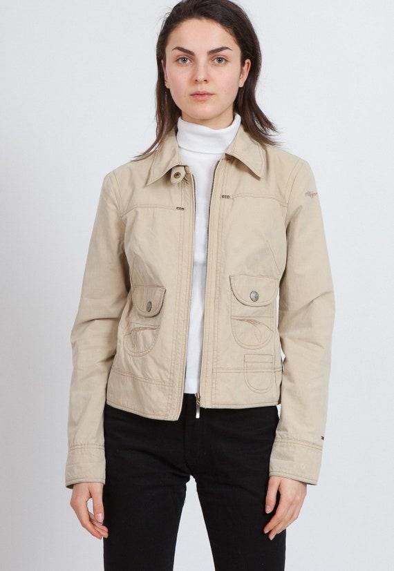 Vintage Beige TOMMY HILFIGER Windbreaker Jacket