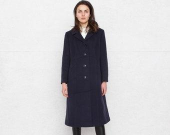 Vintage Navy Coat/ Size L