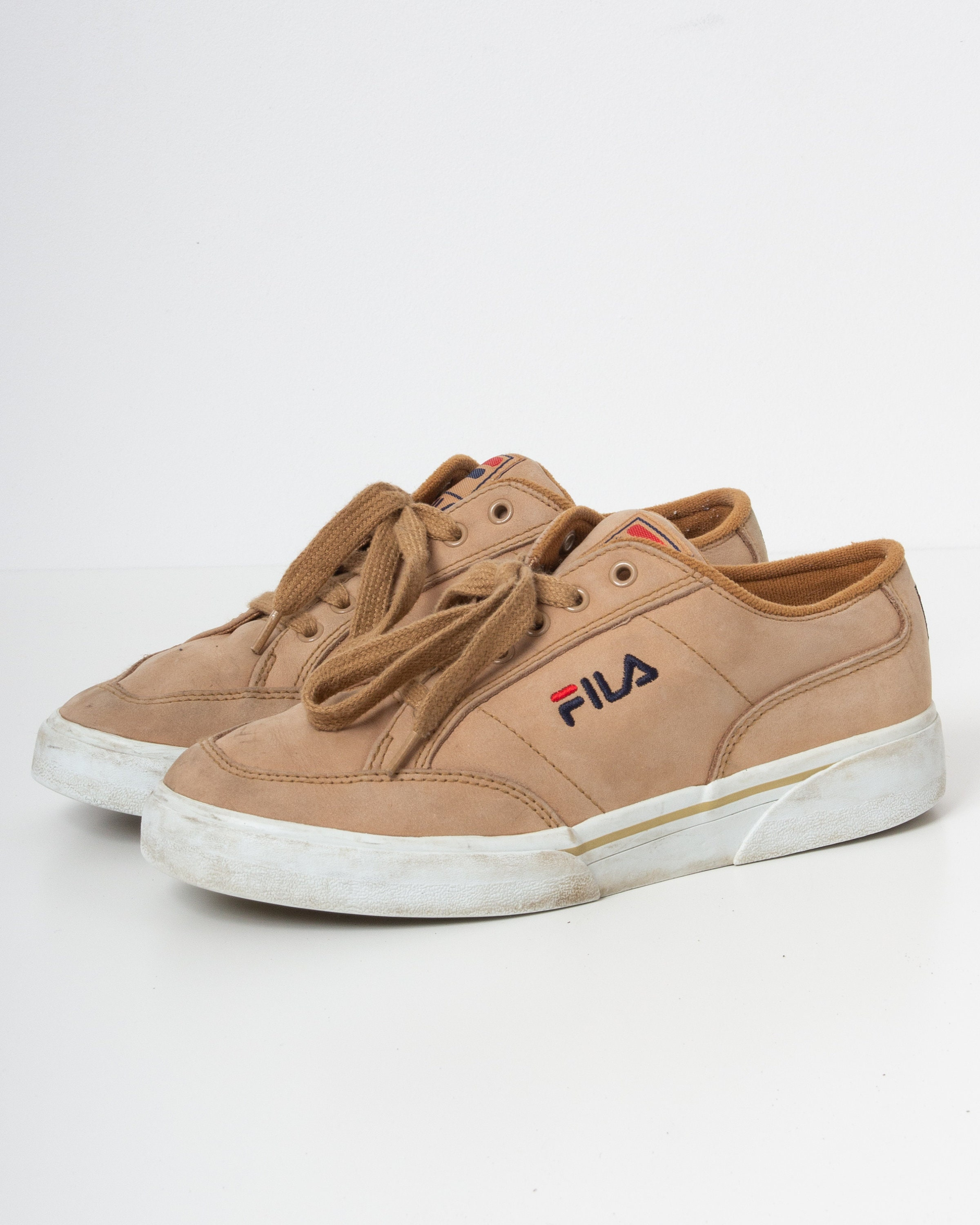 Vintage Brown FILA Trainers Size 40