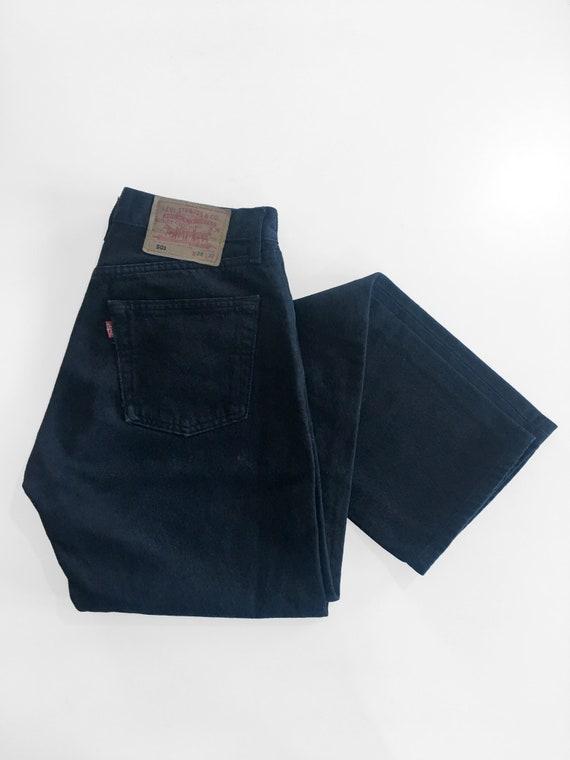Authentic Vintage Black Levi's 501, Unisex Jeans w