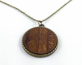 Halsketten Holz