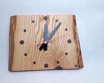 Wall clock solid wood clock wood wall clock ash