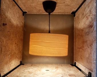 Veneer lamp ash 40 cm diameter Venner lamp lampshades made of veneer wood lamp wood