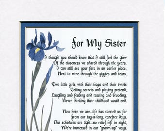 Gifts For Her Gifts For Women Gifts For A Sister Sister Etsy
