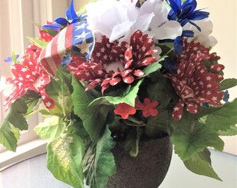 Star Daisy Flower Arrangement, Silk Flower Centerpiece, Artificial Flower Decor, Summer Floral Centerpiece, Daisy Centerpiece, Faux Flowers