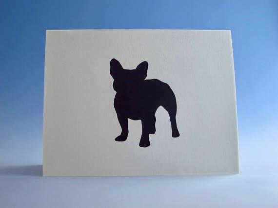 French Bulldog Card Greeting Dog Owner