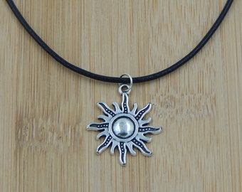 sun necklace hippie