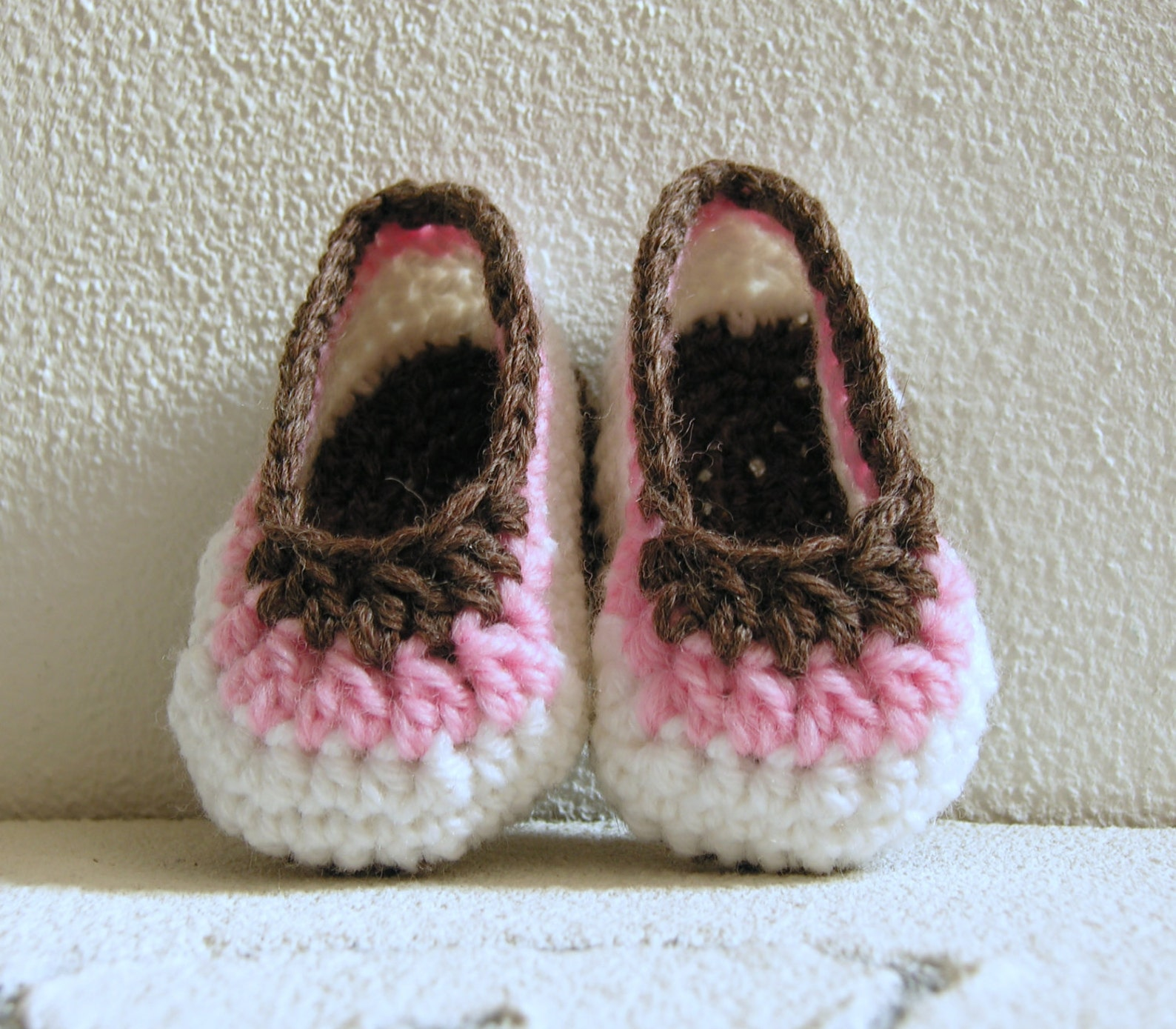 baby ballet flat in pure new wool