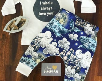 Dreamy Seas Baby Leggings