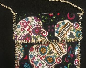 Day Of The Dead Over The Shoulder Purse