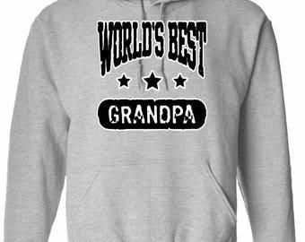 World's Best Grandpa Hoodie Sweatshirt For Grandpa