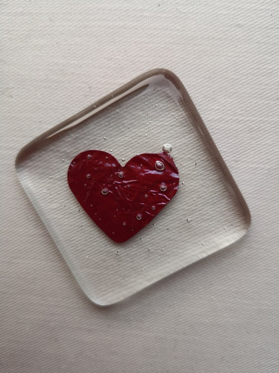 Pocket heart, pocket hug keepsake