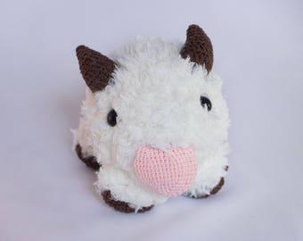 League of Legends - Crocheted Poro plush