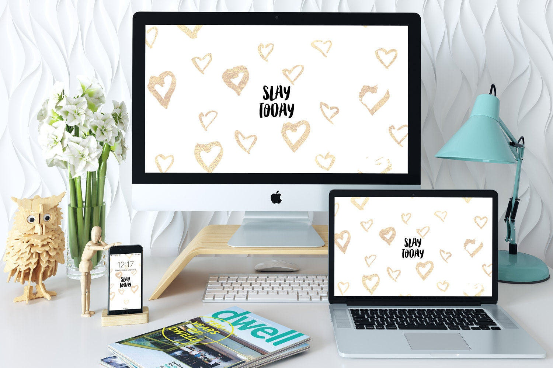 Desktop Background Iphone Wallpaper Bundle Set Computer Wallpaper Digital Wallpaper Inspirational Quote Wallpaper Lock Screen