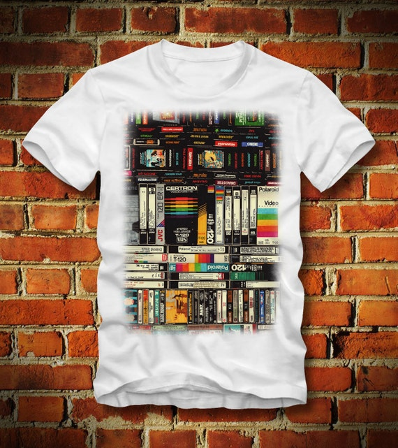 Cotton Unisex T-Shirt music 80s oldschool CASSETTE TAPES