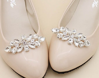 60f953372 Shoes Clip Accessories Crystal